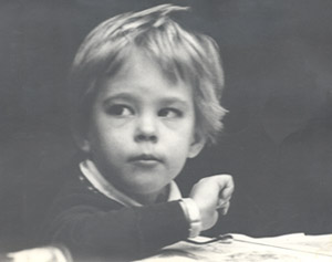 kate at age four